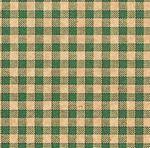 Custom GREEN KRAFT GINGHAM Sheet Tissue Paper