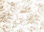 Custom GOLD CHERUBS Sheet Tissue Paper