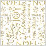 Custom NOEL Sheet Tissue Paper