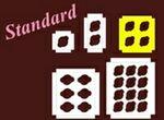 Custom Standard 2.625 Oz. Cupcake Insert w/ 4 Openings