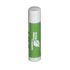 Natural Lip Balm in White Tube - Made w/ Certified Organic Ingredients