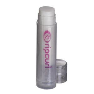 Natural DivaZ Shimmer Lip Balm in Clear Tube