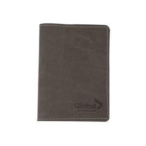 CURRIER Leather Passport Holder