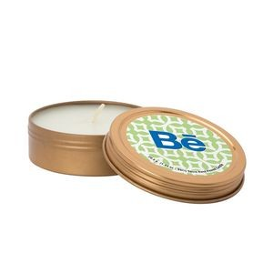 2 Oz. Scented Candle in Screw-Top Metal Tin