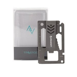 BRIDGER 9-in-1 Laser Engraved Money Clip Multitool