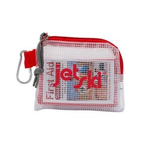 Outdoor Safety & First Aid Kit in a Zippered Clear Nylon Bag