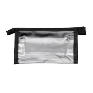 "Clear Vinyl Bag with Top Zipper - 4""x6"" (Empty)"