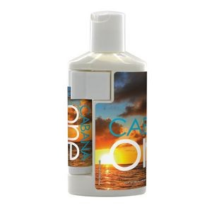 2 Oz. Duo Bottle With SPF 30 Sunscreen And SPF 15 Lip Balm In White Tube