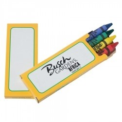 Prang® Ad Pack Crayons (1 Side Imprint)