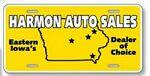 Custom Standard License Plates - .023