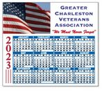 Custom Calendar Magnet - Square Corners (4