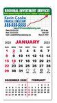 Custom Adhesive Calendar Pad w/ 3 Month View
