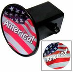 Custom Hitch Covers w/ Domed Decal - Circle