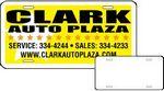 Custom Stock Mini License Plate Magnet (3