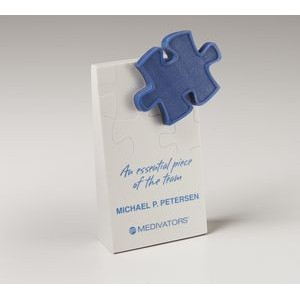 Puzzle Accent Wedge Award