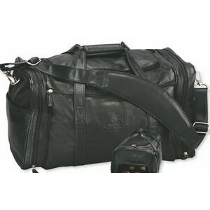 Strong Duffel/Sport Bag w/Multiple Zipper Pocket (Imported)