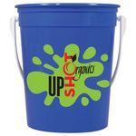 Custom 32 Oz Sand Pail (Silkscreen)