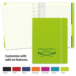 Filofax® Brights Refillable Letter Notebook