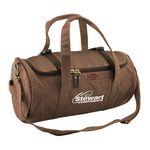 Custom Vintage Canvas Duffle Bag