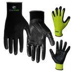 Custom Nitrile Palm Coated Gloves