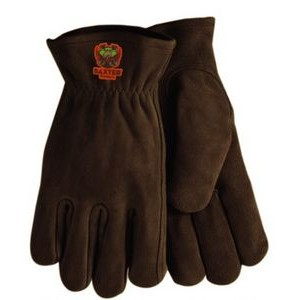 Suede Cowhide Leather Gloves