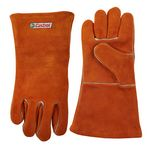 Custom Suede Cowhide Leather Gloves
