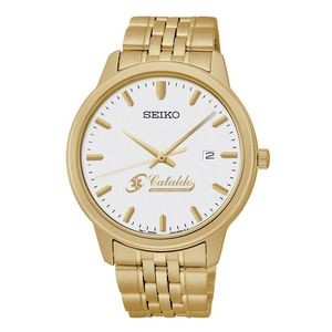 Men's Seiko Quartz Gold Watch