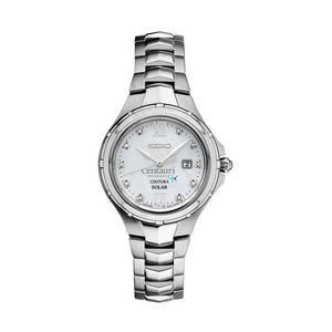 Women's Seiko Solar Watch (Silver)