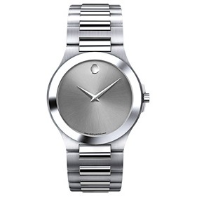 Men's Movado® Corporate Watch (Silver)