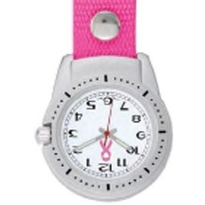 Pedre Unisex Clipper Watch W/ Pink Strap
