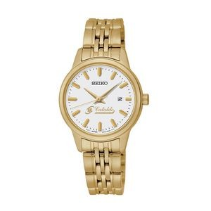 Women's Seiko Quartz Gold Watch