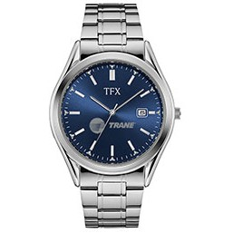Men's TFX Watch by Bulova (Silver/Blue)