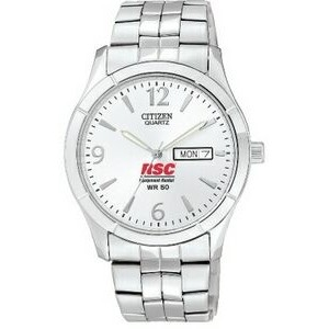 Men's Citizen® Quartz Watch (Silver Dial)
