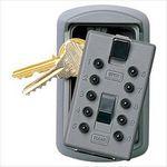 Custom KeySafe Original Slimline - Titanium