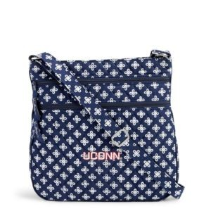 Vera Bradley Triple Zip Collegiate Hipster Bag (U Conn)