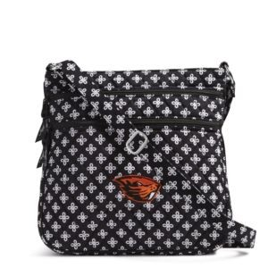 Vera Bradley Triple Zip Collegiate Hipster Bag (Oregon State)