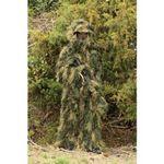 Custom 5-Piece Woodland Ghillie Suit - Adult Med/Lg