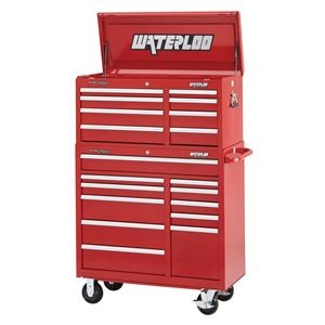 "41"" Wide 8-Drawer Tool Chest with 11-Drawer Tool Cabinet"