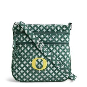 Vera Bradley Triple Zip Collegiate Hipster Bag (Oregon)