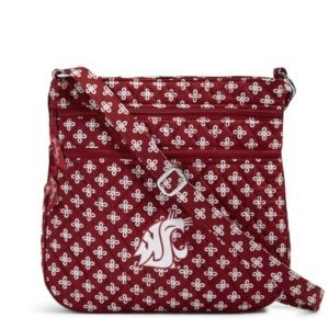 Vera Bradley Triple Zip Collegiate Hipster Bag (Washington State)