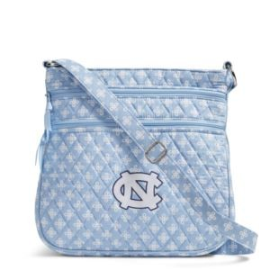 Vera Bradley Triple Zip Collegiate Hipster Bag (UNC)