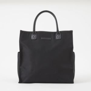 Bob Tote - Brushed Microfiber - Charcoal Black