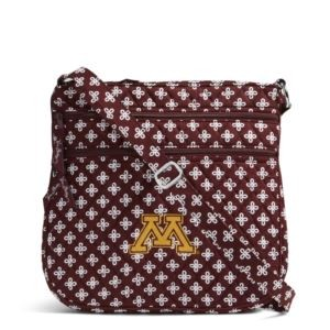 Vera Bradley Triple Zip Collegiate Hipster Bag (Minnesota)