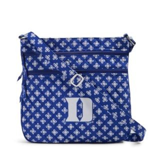 Vera Bradley Triple Zip Collegiate Hipster Bag (Duke)