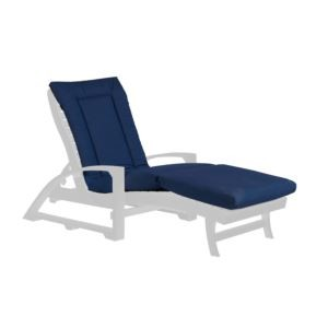 Chaise Lounge Cushion Pad - Canvas Navy