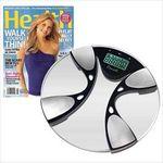 Custom Body Fat/Body Water Bath Scale & Health Subscription