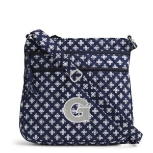 Vera Bradley Triple Zip Collegiate Hipster Bag (Georgetown)
