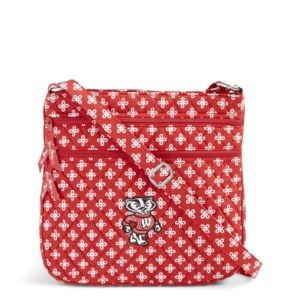 Vera Bradley Triple Zip Collegiate Hipster Bag (Wisconsin)