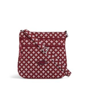 Vera Bradley Triple Zip Collegiate Hipster Bag (Arkansas)