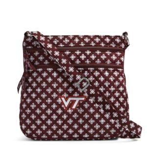Vera Bradley Triple Zip Collegiate Hipster Bag (Virginia Tech)